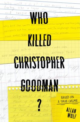 Who killed Chrisopher Goodman?