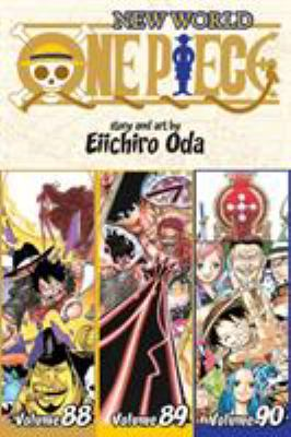 One piece: Vol. 88-89-90, New world